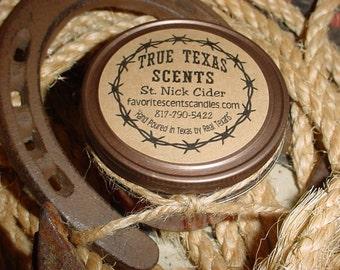 St. Nick Cider - Mulled Cider - 4 oz Western Cowboy Candle