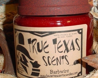 Cowboy and Indians (Autumn Lodge type) - 16 oz Western Cowboy candle