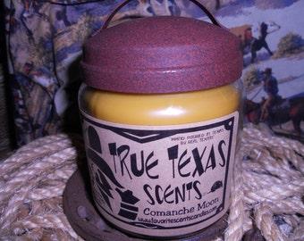 Comanche Moon (Moonlight Pomegrante type) - 16 oz Western Cowboy Candle