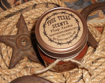 Flap Jacks (Maple Syrup) 8 oz Western Cowboy Candle