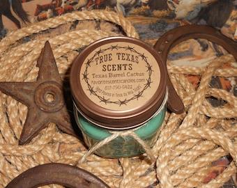 Under the Mistletoe (Mistletoe Scent) - 8 oz Western Cowboy Candle