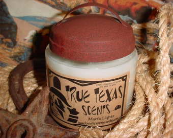 Marfa Lights (Cinnamon Stick scented) 16 oz Western Cowboy Candle