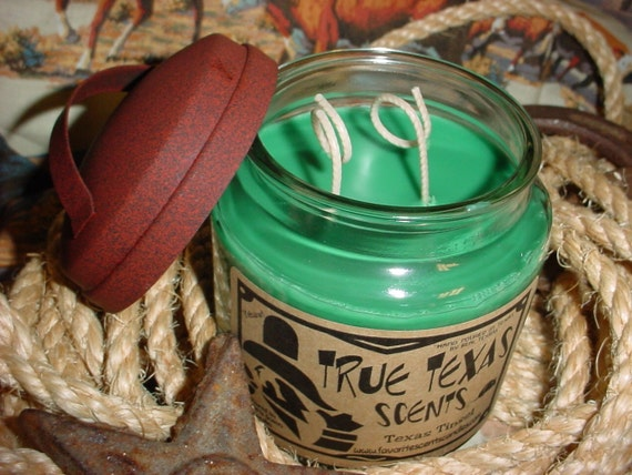 East Texas Pines Scented 16 oz Western Cowboy Candle