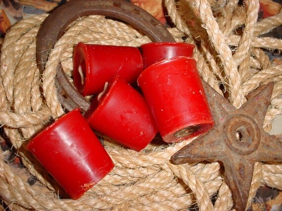 Remember the Alamo (Black Cherry scent) (8) 15 hour Western Cowboy Votives