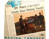 Items Similar To Rare Ghetto Boys Lp Making Trouble 5th