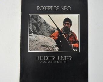 1978  Deer Hunter De Niro Classic Film Iconic Image Movie Promo Poster Size 10x15