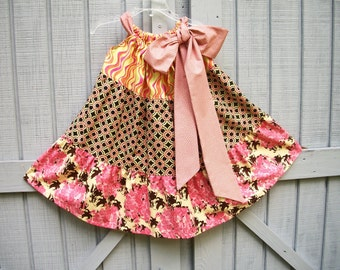 Girls Twirly Tie Dress Toddler 2