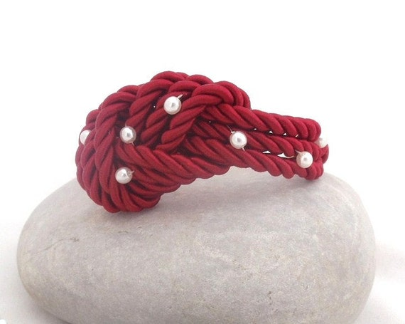 red Knot  bracelet  - Nautical Collection , Mothers day