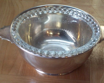 Blackstone Silver Candy Dish with glass liner