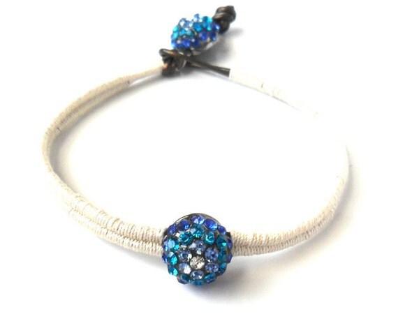 Bridal Jewelry The ultimate Peacock wedding, Something Blue  bracelet,  trendy boho fashion wedding