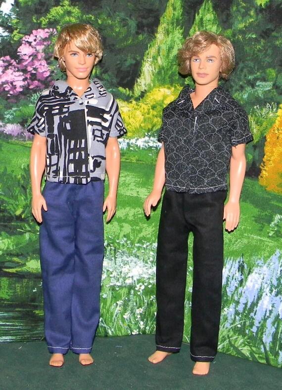 KEN doll 2pk  2 pants and 2 shirts (KD-59)
