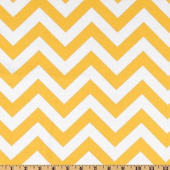Premier Prints ZigZag Slub Texture Yellow/White