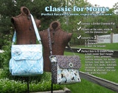 PDF - Classic for Moms: Converting Diaper Bag - Sewing Pattern