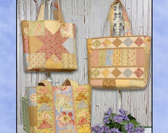 Charming Totes Four  - Sewing Pattern