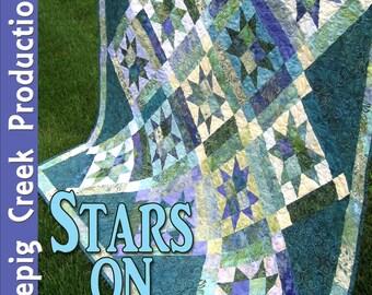 PDF - Stars On Point Quilt Pattern