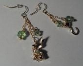 Disney's Peter Pan gold earrings