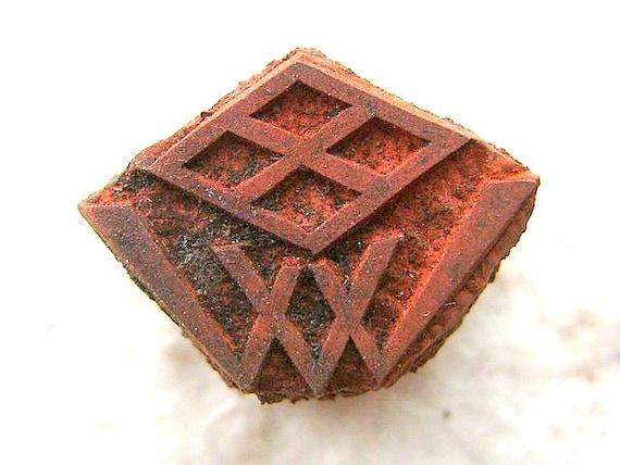 Vintage  Japanese Rubber Stamp Name 82