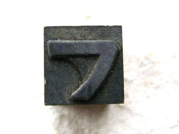 Vintage Japanese Typewriter Key Stamp Fu in Showa Period L Size