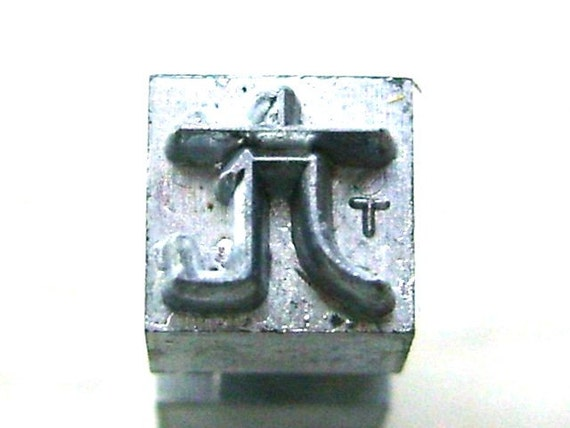 Vintage Japanese Typewriter Key Stamp excessive in Showa Period