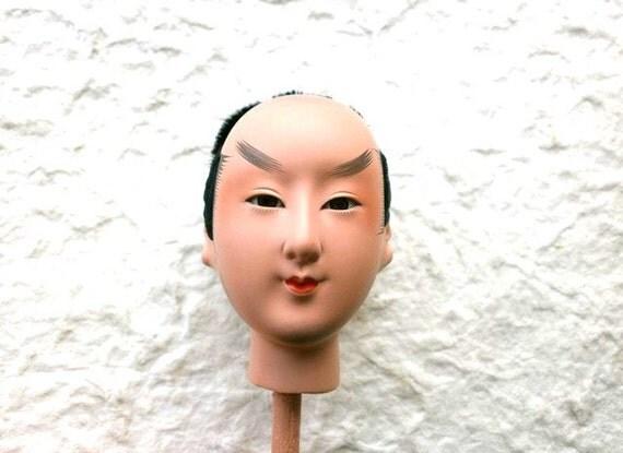 Japanese Doll Head Hina Matsuri Man No.29