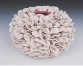 White Vase - Decorative Art - Ceramic Sculpture - Decor