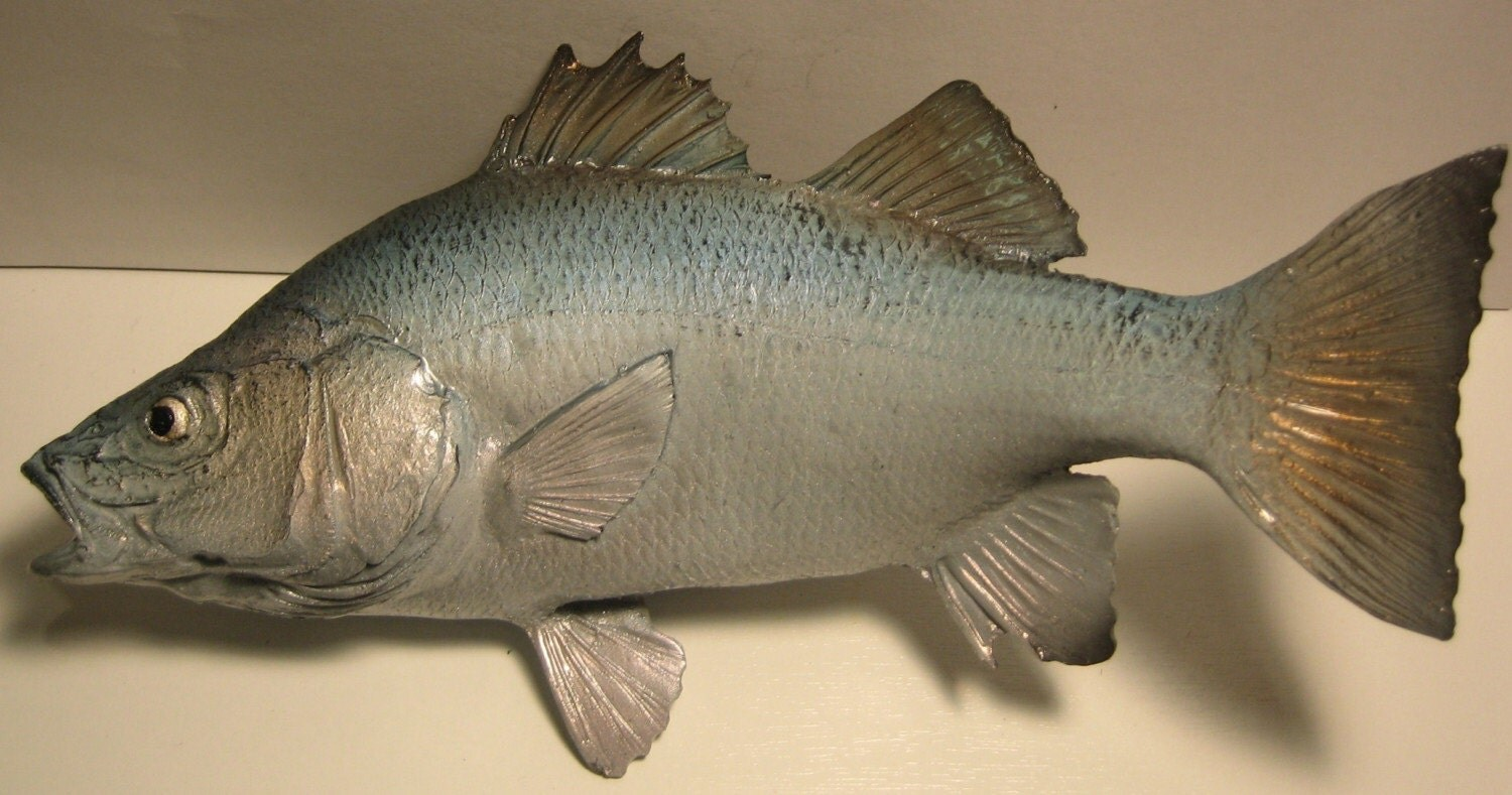 White perch fish replica by fishingart on etsy for White perch fish