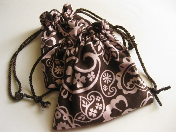 Anti Tarnish Drawstring Jewelry Pouches