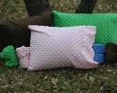 Soft Minky Dot Travel/Toddler Pillowcase - Choose Your Color