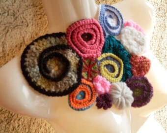 Easy E Pattern Tutorial to Freeform Knitting and Crocheting - Learn 6 different stitches PDF Instant Download