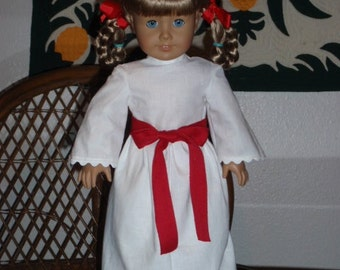 1850s St. Lucia Dress for American Girl Kirsten or other 18 inch doll