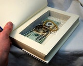 Hollow Book Safe Hands on the Past, by Elijah of L And L on Etsy