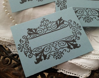 Wedding Event and Party Place Cards Food Buffet Label Tags Set of 10