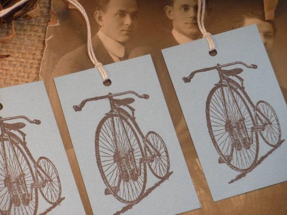 Bike Gift Tags Set of 10