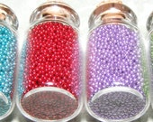 Faux Decorating Sprinkles (4 Miniature Bottles) (non-edible)