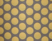 Vintage Groove by Adornit Vintage Polka Dot Gray 1 1/2 yards Custom Order for Angie