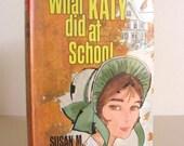 Vintage 1967 Hardcover What Katy Did At School by Susan M. Coolidge