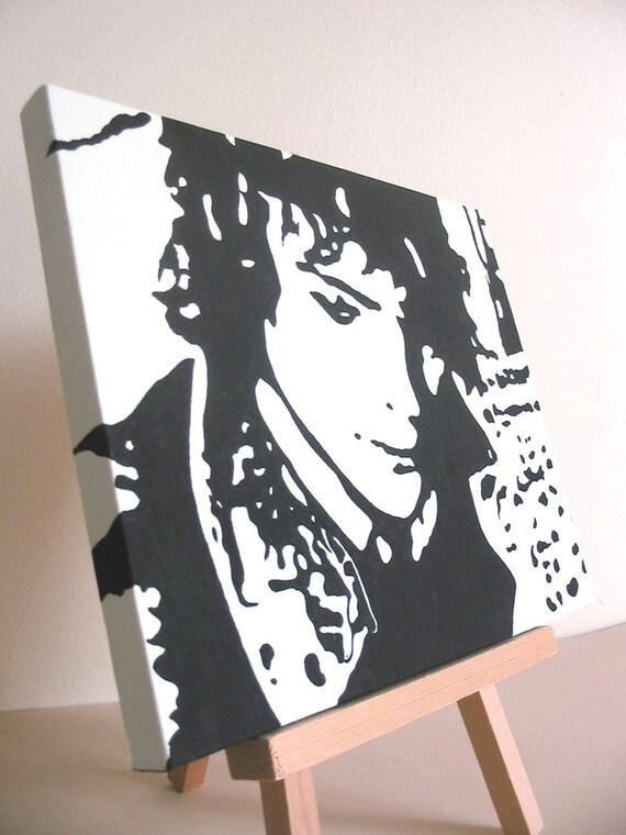 Syd Barrett // Acrylic Painting //  8x10 // Handpainted