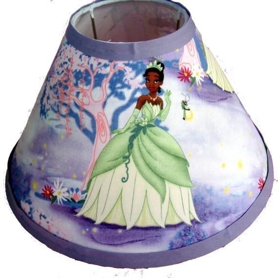 Princess And The Frog Print Lamp Shade Tiana
