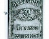 Jack Daniels Zippo Lighter w/Free Engraving Gift Idea