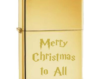 BRASS high polish Zippo Lighter with Free Engrave gift idea