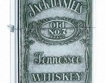 Jack Daniels Zippo Lighter w/ Free Engrave Gift Idea