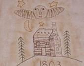 1803 Log Cabin Stitchery