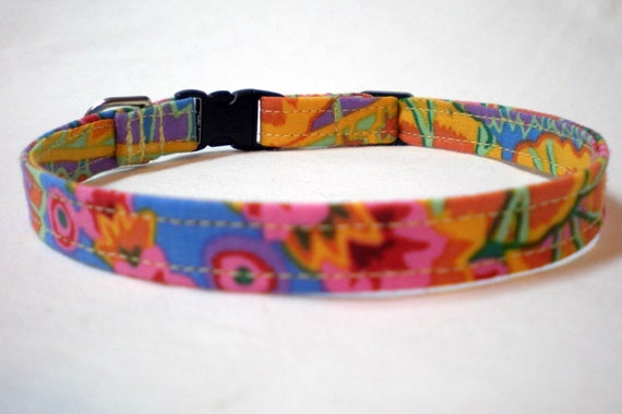Orange Cat Collar Boy Girl Kaffe Fasett Paisley Fabric