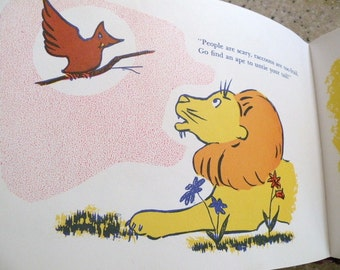 1968 Lions 'n' Things Childrens Book by Elsie W. Strother First Edition.