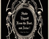 The Undead Arise Gothic Macabre Art Print