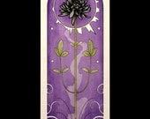 Gothic Art Nouveau Poster Print Black Dahlia