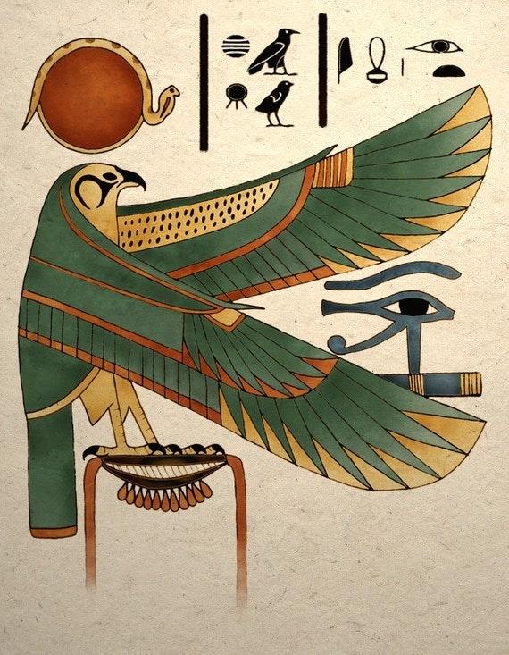 Egyptian Falcon Symbols
