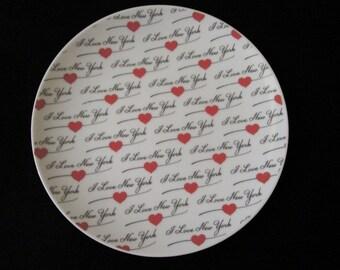 I Love New York - Plate