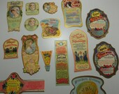 15 Vintage Beauty and Hygiene Product Labels - 1920s - Dr. J. B. Lynas and Son