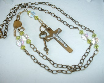 Lady Lily Steampunk Rosary REDUCED